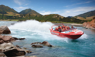 Up to 50% Off an Adult or Child Hanmer Springs Jet Boat Experience (value up to $125)