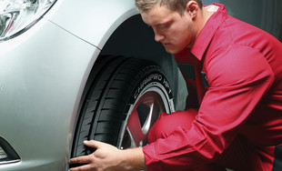 $45 for a Wheel Alignment & Rotation
