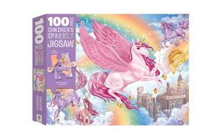 Children's Unicorn Kingdom Sparkly Jigsaw - Option for Two
