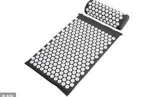 Acupressure Mat & Pillow Set - Four Colours Available