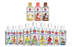 Nine-Pack VitalZing WaterDrops - Option for Three-Pack of VitalZing Milk Drops or Both