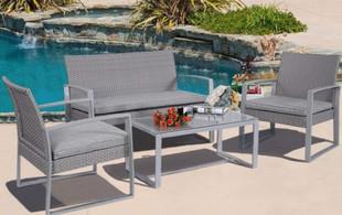 Four-Piece Lugano Outdoor Lounge Set