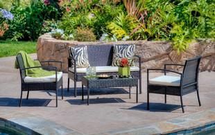 Four-Piece Classique Outdoor Lounge Set
