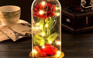 LED Silk Rose