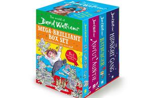 David Walliams Mega Brilliant Four-Book Box Set