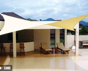 From $45 for a Water-Resistant Heavy-Duty Winter Shade Sail in Various Sizes & Colours
