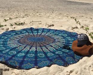 $19 for an Indian Bohemian Style Mandala Beach Throw Available in Nine Colours