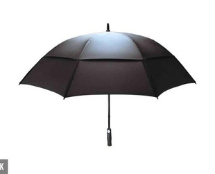 $25 for a Double Canopy Wind-Resistant Umbrella