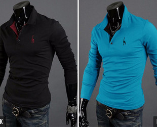$19 for a Men's Long Sleeve T-Shirt –Available in Ten Colours