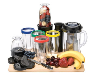 $39.99 for a Sheffield 21-Piece Rocket Blender Set with a 12-Month Warranty (value $99.99)