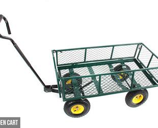 $99 for a Heavy Duty Mesh Garden Cart