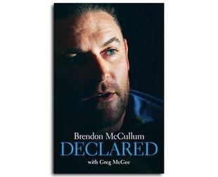 $36.99 for the New 'Brendon McCullum - Declared' Hardback (value $49.99)