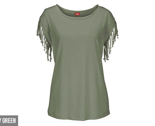 $17 for a Tassle Sleeved Tee Available in Five Colours