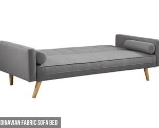 $399 for a Scandinavian Fabric Sofa Bed