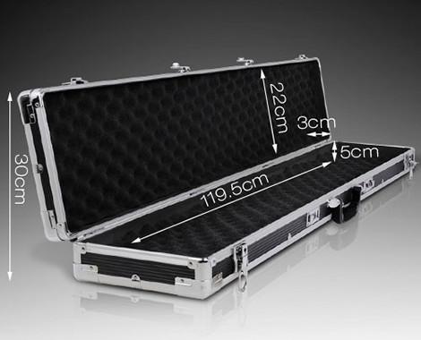 $99 for Portable Aluminium Gun Case for Hunting Rifle or Shot Gun with Foam Padding