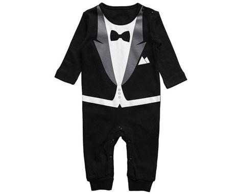 48c5352e7de3 Baby Tuxedo Onesie - GrabOne Store