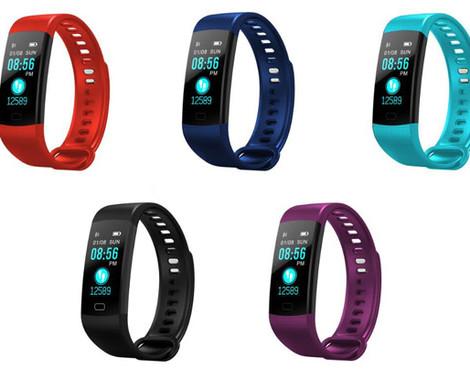 Unisex Sports Smartwatch - Five Colours Available