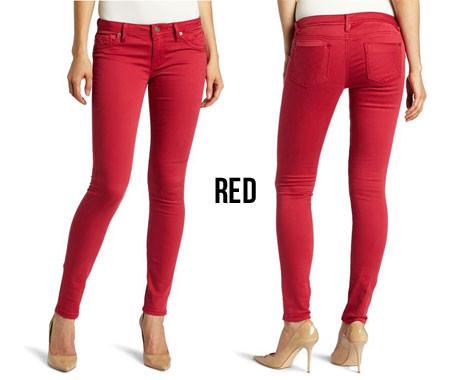 Coloured Skinny Jeans - Jon Jean