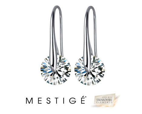$19 for a Pair of Crystal Eclipse Earrings Made with Swarovski Elements incl. Nationwide Delivery (value $112)