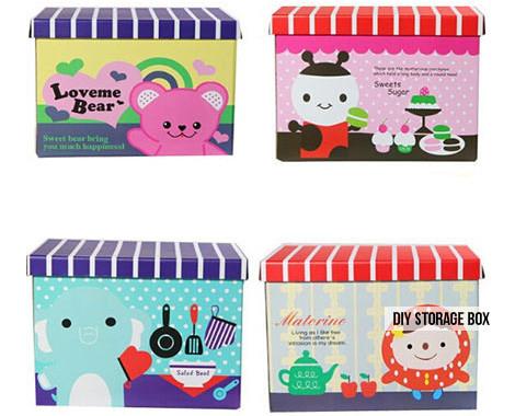$9 for a Kids' DIY Storage Box or $12 for a Kids' Animal Storage Box