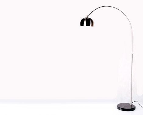 Retro arc floor lamp grabone store 79 for an arco italian inspired retro arc floor lamp aloadofball Gallery
