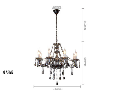 From $99 for a Gold or Silver Chandelier