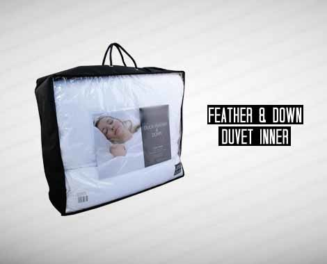 $79, $95 or $109 for Spring Weight Feather & Down 225GSM Duvet Inner