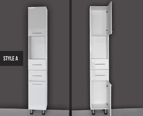 Bathroom Cabinets Nz tall white bathroom cabinet uk - bathrooms cabinets