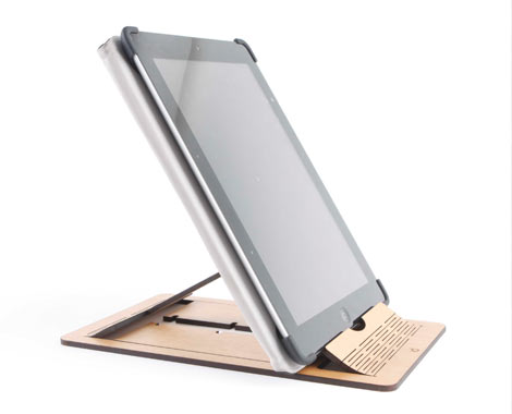 Wood Laser Cut Ipad Tablet Or Book Stand Grabone Store